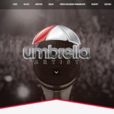 Webbdesign:  Produktionsbolag med turnéverksamhet