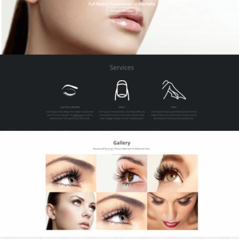 Webbdesign – Beauty By Ida: EYELASHSTYLIST – BEAUTICIAN